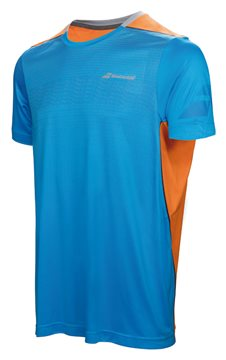 Produkt Babolat Crew Neck Tee Men Performance Blue 2017