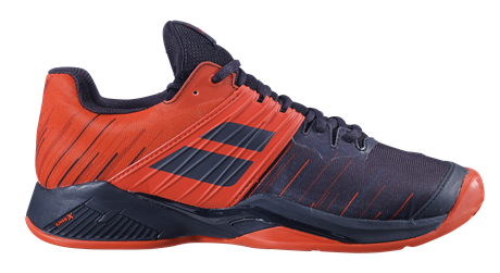 Babolat Propulse Fury Clay Men Black/Tomato Red