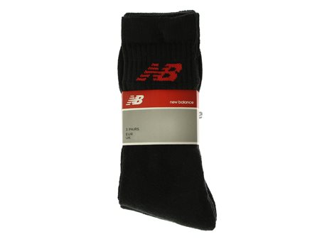 New Balance Crew Basic Socks Black