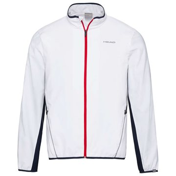 Produkt HEAD Club Jacket Men White/Dark Blue