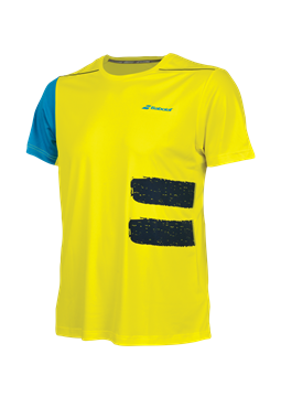 Produkt Babolat Performance Boy TEE Crew Neck Yellow 2018