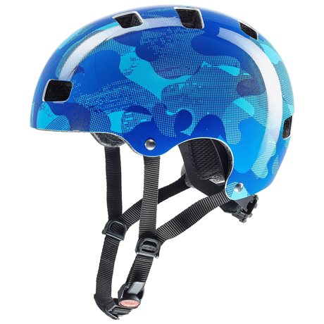 UVEX HELMA KID 3, BLUE CAMO 2019