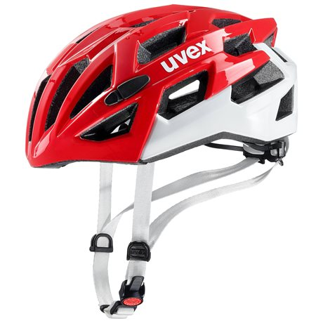UVEX HELMA RACE 7, RED WHITE 18/19