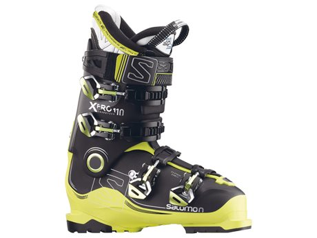 Salomon X PRO 110 Black/Acide Green/Anthracite 17/18 391523