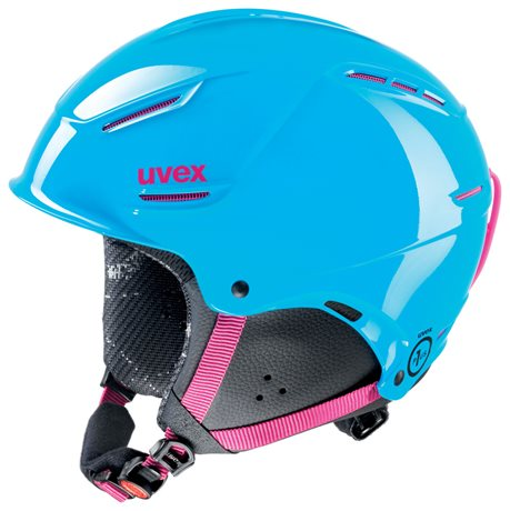 UVEX P1US JUNIOR cyan-pink S566180490 16/17