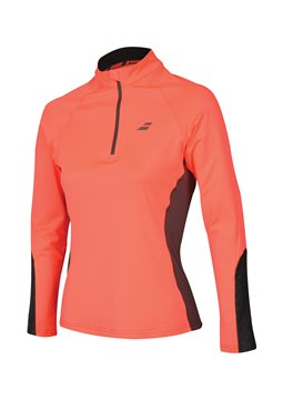 Produkt Babolat 1/2 Zip Women Core Fluo Red