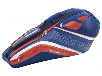 Produkt Babolat Team Line Racket Holder X4 Badminton Navy Blue/Red