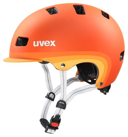 UVEX CITY 5, ORANGE METALLIC MAT