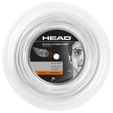 HEAD Evolution Pro Squash 110m 1,20 White
