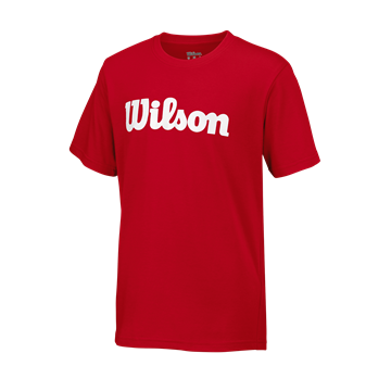 Produkt Wilson Y Script Cotton Tee Red