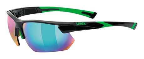 UVEX SPORTSTYLE 221, BLACK GREEN