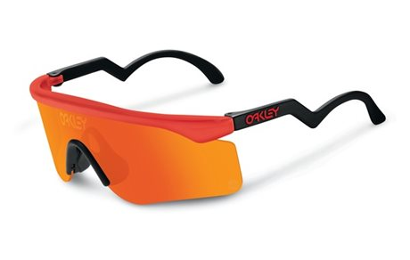 OAKLEY Razor Blades Red w/ Fire Iridium LTD