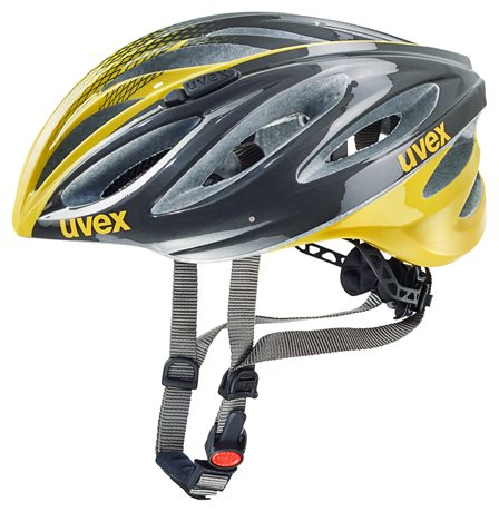 UVEX BOSS RACE, ANTHRACITE-YELLOW 2016