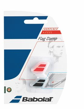 Produkt Babolat Flag Damp X2 Black&Red