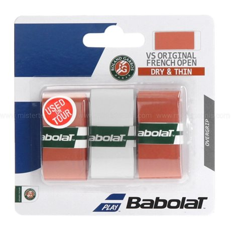 Babolat VS Grip Original French Open 2017 X3 Clay/White