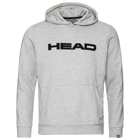 HEAD Club Byron Hoodie Junior Grey Melange/Black