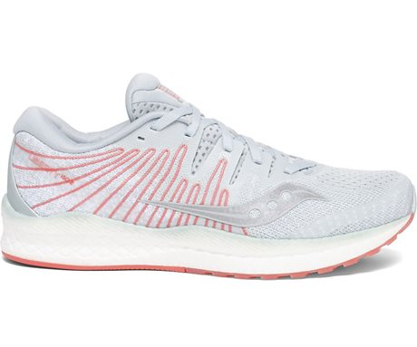 Saucony Liberty ISO 2 Sky Grey/Coral
