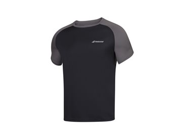 Produkt Babolat Play Crew Neck Tee Men Black/Black