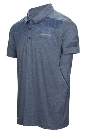 Babolat Polo Men Performance Heather Blue