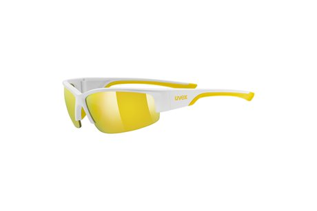 UVEX SGL 215, WHITE MAT YELLOW/YELLOW