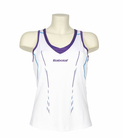 Babolat Tank Women Match Performance White