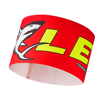 Produkt Leki Race Shark Headband red-yellow