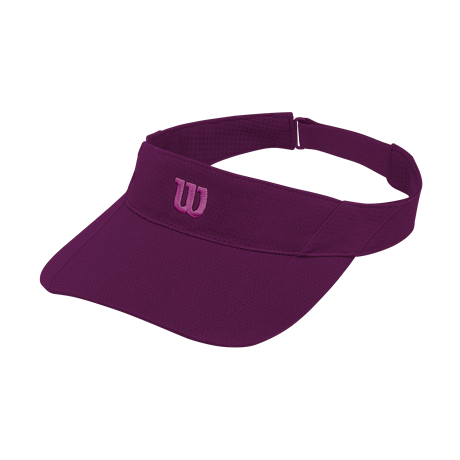 Wilson Rush Knit Visor Ultralight Dark Purple