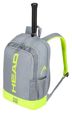 Produkt Head Core Backpack Grey/Neon Yellow 2021