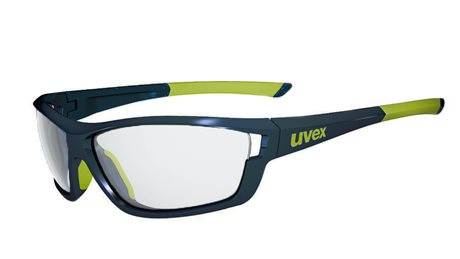 UVEX SGL 611 VL, BLUE YELLOW/SMOKE
