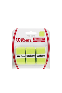 Produkt Wilson Pro Soft Overgrip X3 Lime
