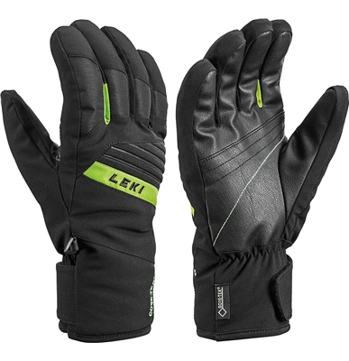 Leki Space GTX black-lime 643861304 19/20