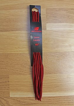 Produkt New Balance Hiker Laces Black/Red