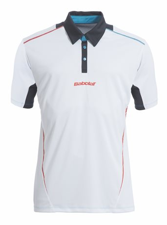 Babolat Polo Men Match Performance White 2015