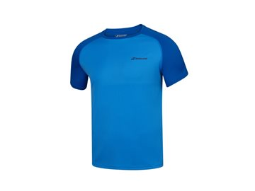 Produkt Babolat Play Crew Neck Tee Men Blue Aster