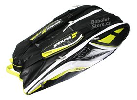Babolat-Team-Line-Racket-Holder-Yellow-X12-2016_06