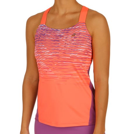 Babolat Tank Top Women Performance Fluo Red